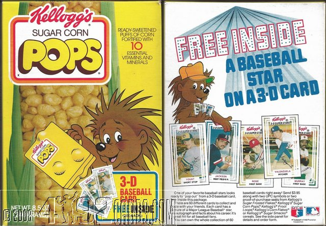 Pops Cereal Box