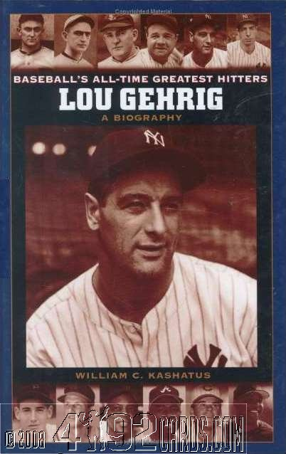 a biography of lou gehrig the best baseball player Wally pipp, the player lou gehrig replaced at the start of his streak, has become a famous bit of baseball trivia to be injured and then have your replacement take.