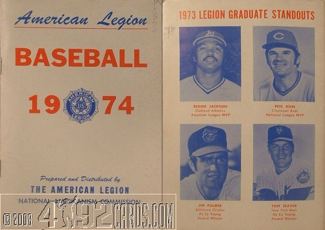 Pete rose newsletters and programs for American legion letterhead template